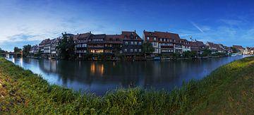 Bamberg - Klein Venedig in der blauen Stunde von Frank Herrmann
