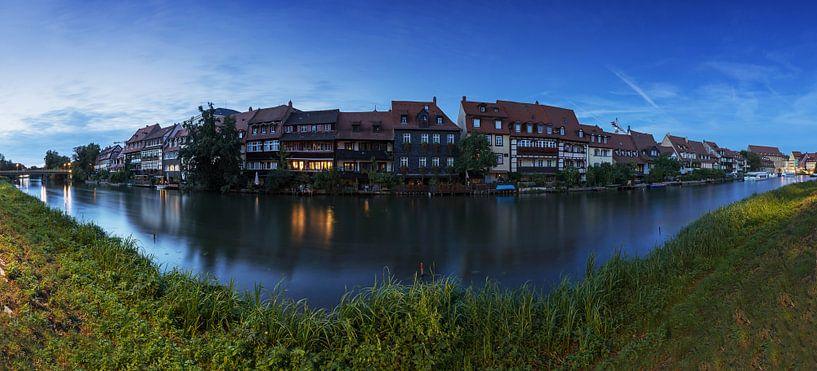 Bamberg - Klein Venetië in het blauwe uur van Frank Herrmann