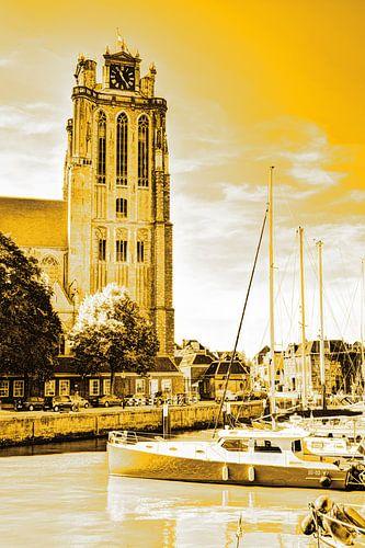 Onze-Lieve-Vrouwekerk te Dordrecht Nederland Goud