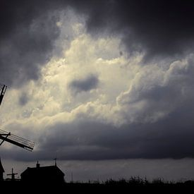 Vent et moulin sur Ton van Buuren