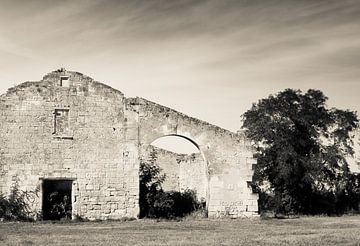 Ruine in France van