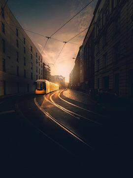 Berlin Tram von Iman Azizi