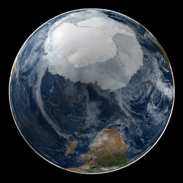 De Aarde en De Zuidpool