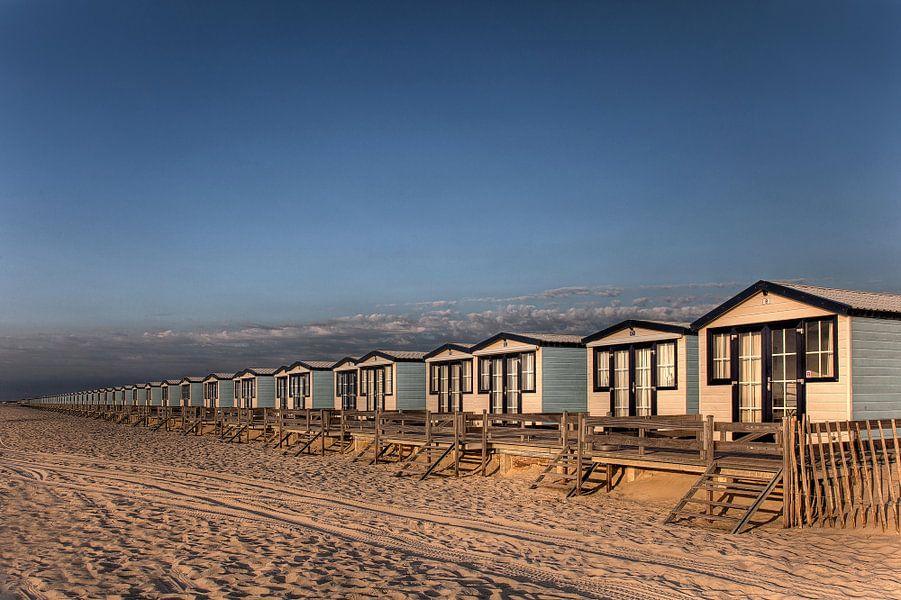 Strandhuisjes 's-Gravenzande Hoek van Holland van PAM fotostudio