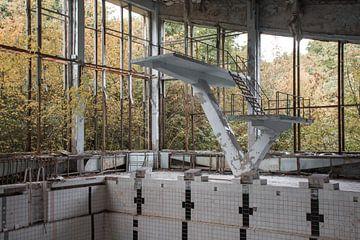 Swimming pool in Pripyat sur Tim Vlielander
