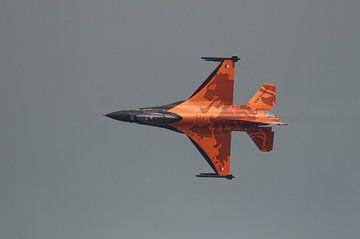 F-16 tijdens een demonstratie van