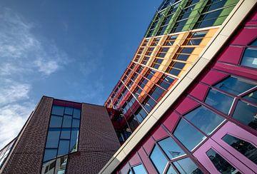 Krankenhaus Isala von unten von Hans Verduin
