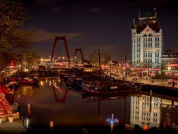 Witte huis Rotterdam van Karen de Geus