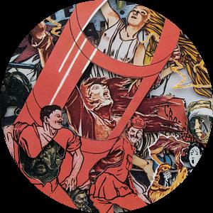 Bevrijding - Oud boek over de Russische Revolutie, uitgesneden met een scalpel van Oscarving
