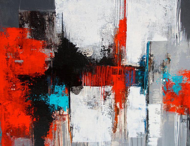 Komposition in Grau Nr.4 von Claudia Neubauer