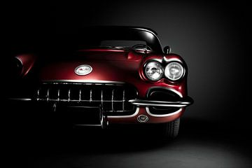 Chevrolet Corvette C1 1958 von Thomas Boudewijn