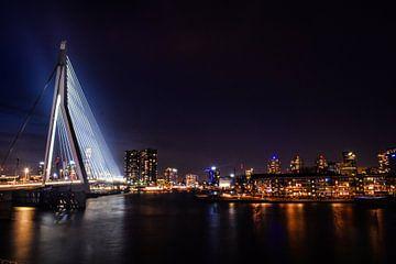 Rotterdam bei Nacht von Michelle van den Boom