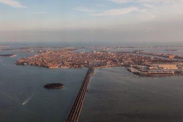 Venetie stad vanuit de lucht van Joost Adriaanse