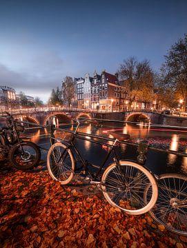 Amsterdam herfst van Thomas Kuipers