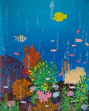 Korallen in den Ozeanen von Aukelien Philips