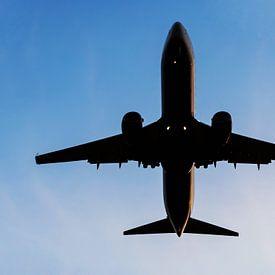 vliegtuig in de lucht van Frank Herrmann
