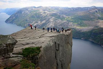 Preikestolen, Noorwegen van