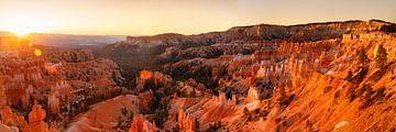 Bryce Amphitheater bij zonsopgang, Bryce Canyon Utah, VS van Markus Lange