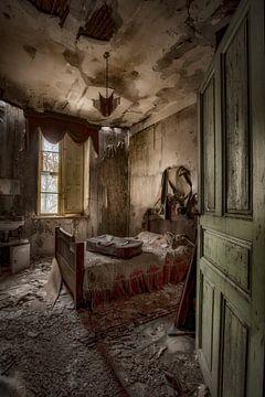 Slaapkamer vervallen van Kelly van den Brande