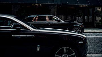 Rolls-Royce in Londen van Willem Verstraten