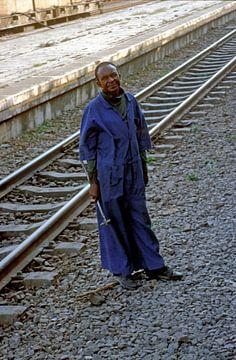Praktikantin Tazara (Tansania, Sambia) von Klaartje Jaspers