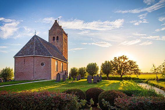 Bartholomeuskerk in Westhem in Friesland, Nederland