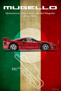 Mugello Vintage F40