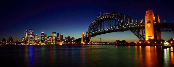 Sydney Skyline van Melanie Viola