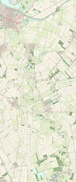 Kaart van Westerwolde