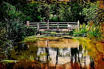 Holzbrücke von Peter Roder