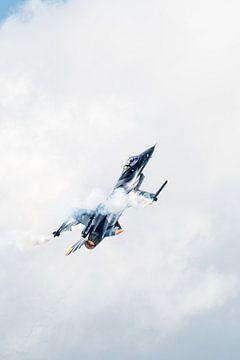 F-16 Fighting Falcon van de Belgische Luchtmacht van Wim Stolwerk