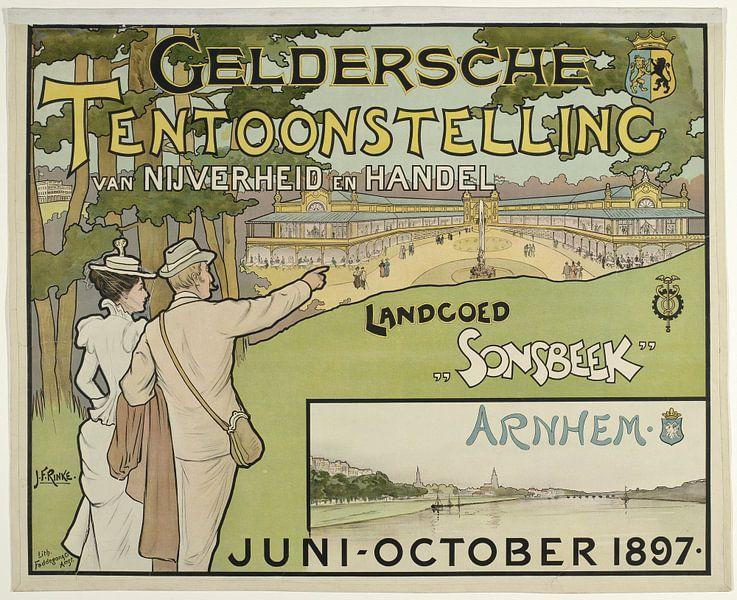 Geldersche Tentoonstelling van Nijverheid en Handel. Landgoed Sonsbeek juni-october 1897., Jan Rinke van 1000 Schilderijen