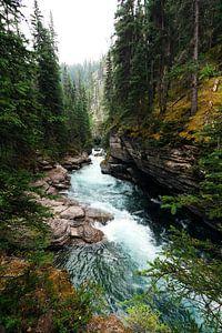 Der wilde Fluss durch die Berge von Nathan Marcusse