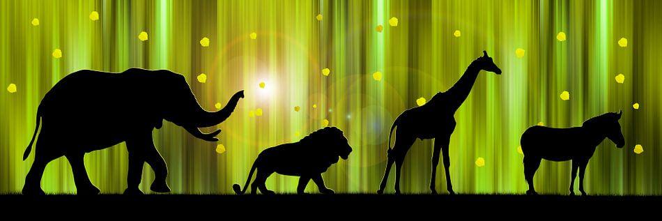Afrika Animal Parade