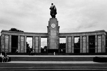 Russisch monument in Berlijn von Rutger Hoekstra