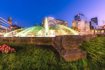 Hofplein Brunnen Rotterdam von Prachtig Rotterdam