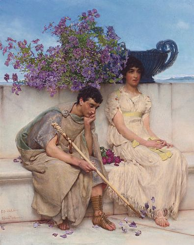 Lawrence Alma Tadema. Ach mijn hart,  1895