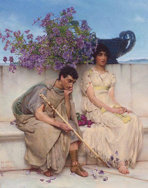 Lawrence Alma Tadema. Ach mijn hart,  1895 van 1000 Schilderijen