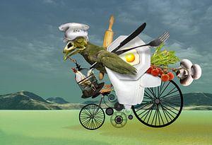 Der Angriff der Küchenbrigade von Ine Tresoor