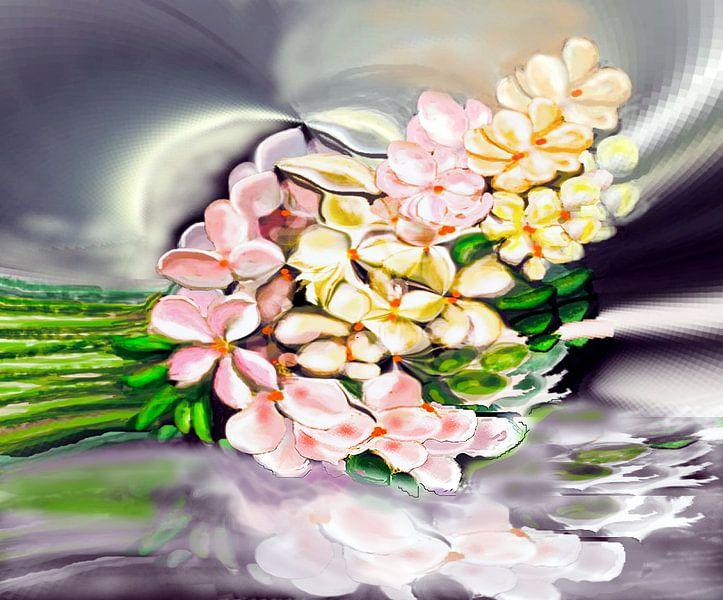 Hydrangeas von Annaluiza Dovinos