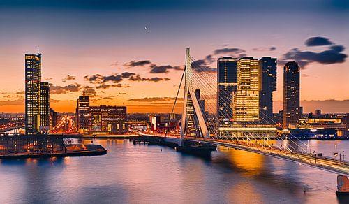 Rotterdam an der Maas von Rob van der Teen