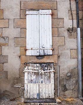 Frankrijk - Deur en raam van Francisca Snel