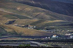 Landschap Lanzarote nabij Yaiza