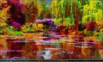 Monet's Garten von Lutz Roland Lehn