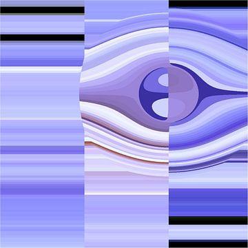 Blue eye von Freya Colman