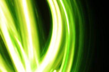 Playing with green light 3 van Karen Boer-Gijsman