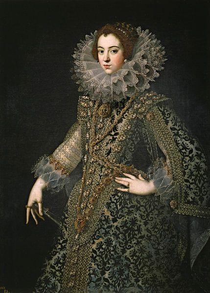 Königin Elizabeth von Bourbon von Diverse Meesters