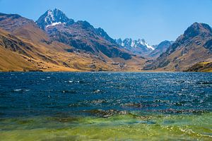 Laguna Querococha, Peru van