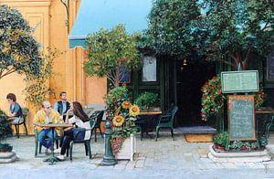 Café Aix-En-Provence von Trevor Neal