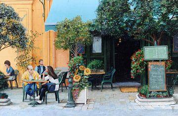 Café Aix-En-Provence van Trevor Neal